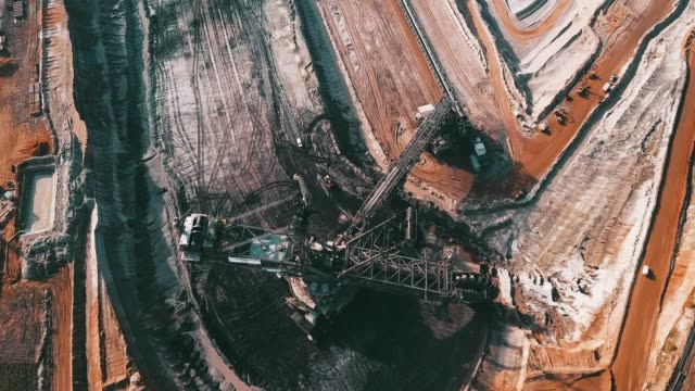 RWE open pit mine Hambach in Germany #6