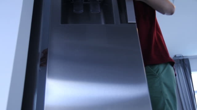 Open Refrigerator video