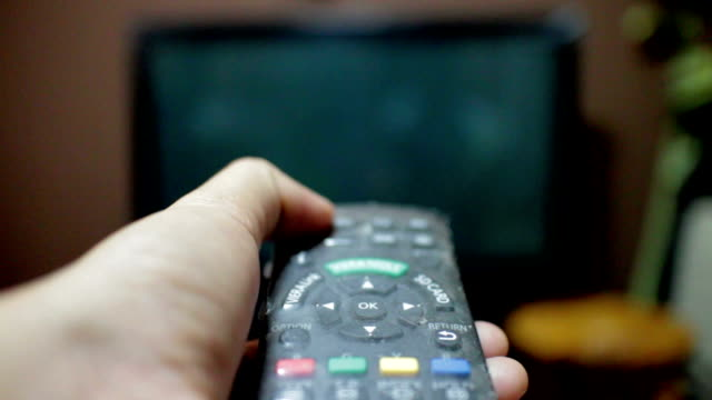 Open TV,Using remote control Open TV,Using remote control cable tv stock videos & royalty-free footage