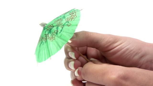 Opening a Tiny Umbrella video