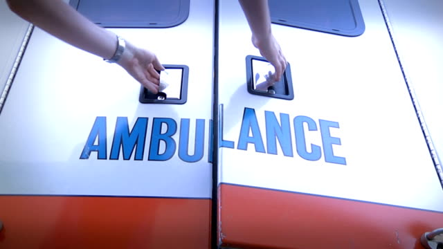 Opening Ambulance Doors video