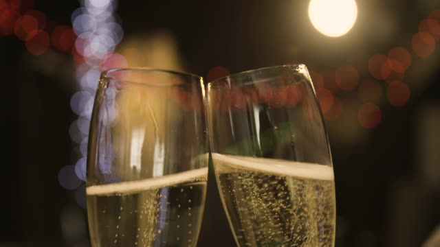 Opening and pouring Champagne video