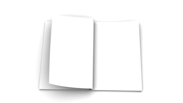 Opening Book in Multi Speed video