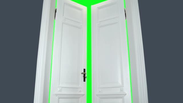 Opening door video