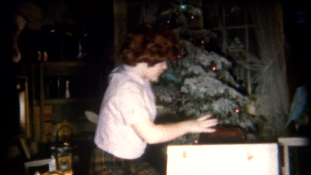 Opening Presents 1950's video