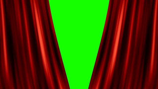 vídeos de stock, filmes e b-roll de abrindo a cortina vermelha - prêmio