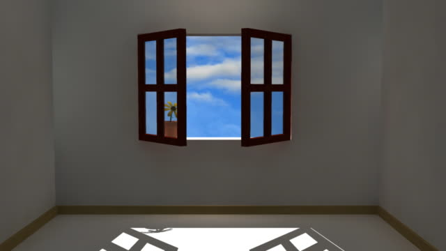 Opening Window (HD)  bay window stock videos & royalty-free footage