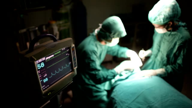Operating room. video