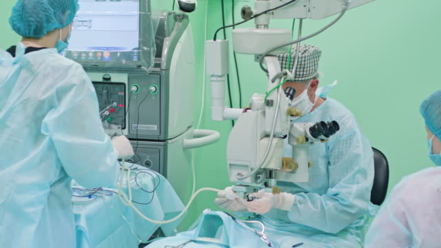 Ophtalmology Surgeons Within the Intervention video