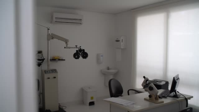 Ophthalmology clinic empty