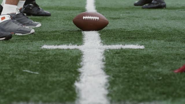 Opposing Football Teams