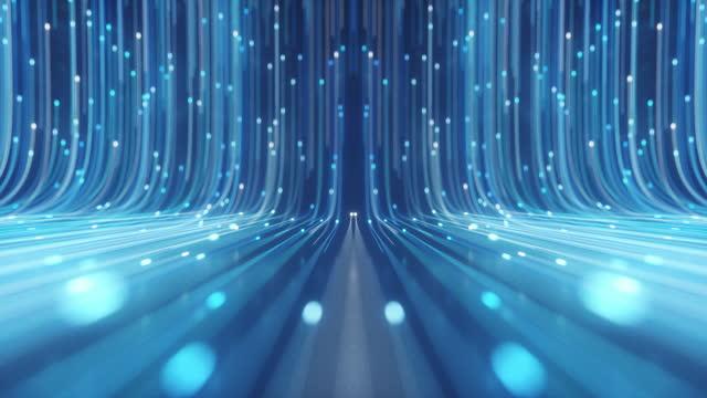 vídeos de stock e filmes b-roll de optic fiber - evolução
