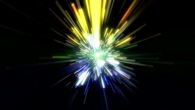 Optical Fiber Background video