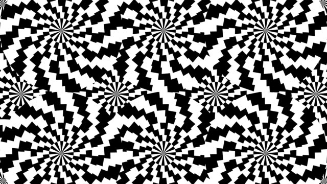 optical illusion psychedelic background - loopable стоковые видео и кадры b-roll