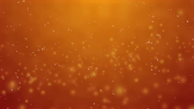 Orange bokeh light backgrounds.