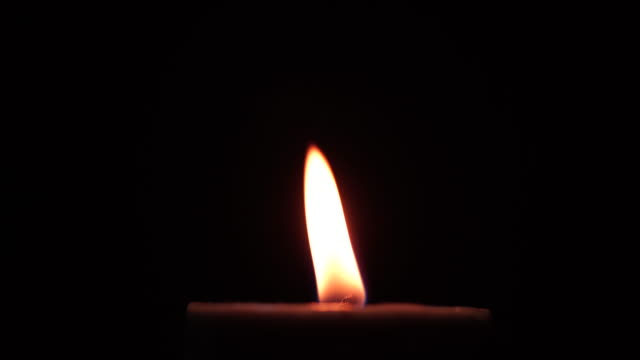 Orange candle video