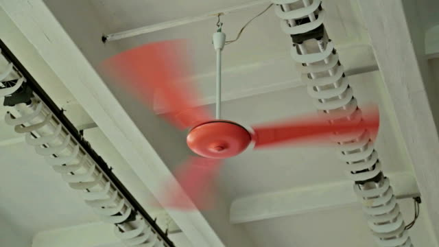 Orange ceiling fan video