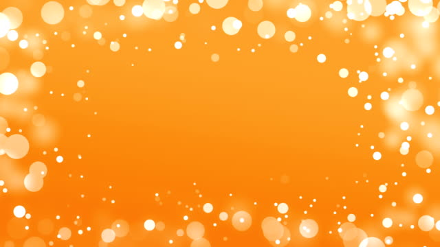 Orange Frame Background (Loopable) video