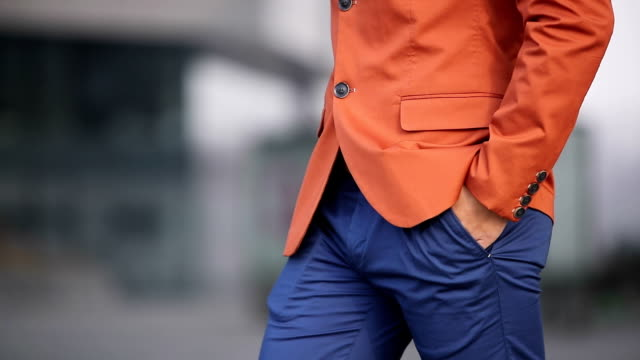 orange is in fashion now - urban fashion stock videos and b-roll footage
