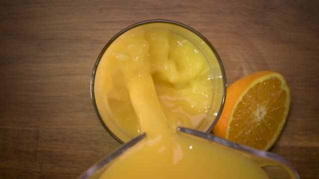 Orange Juice Pour video