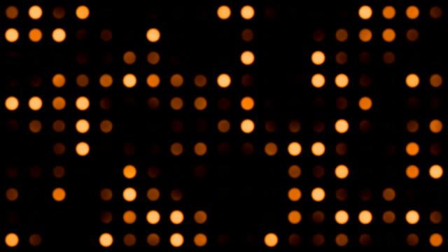 Orange Monotone Coloured Dots Background video