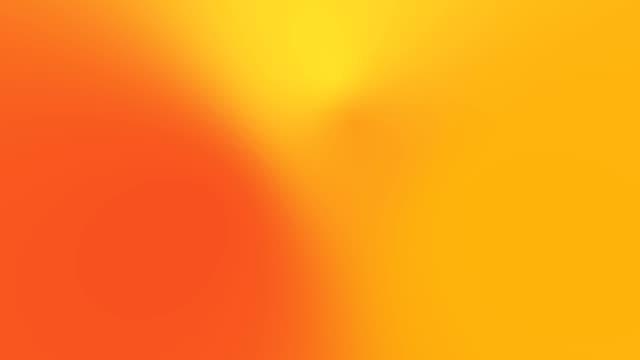 turuncu hareket gradyan arka plan döngü sunu 4k. - turuncu stok videoları ve detay görüntü çekimi