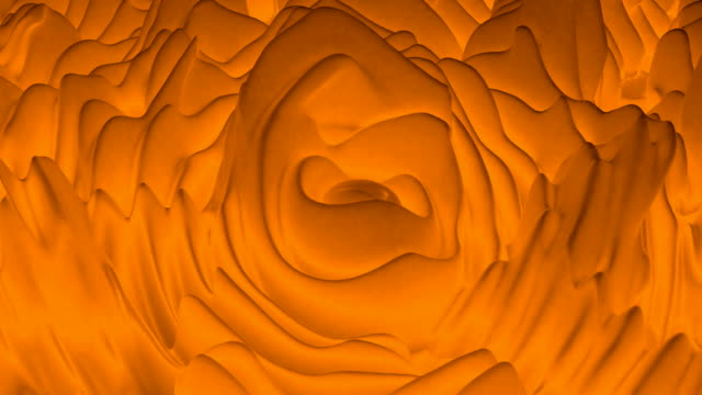Orange organic wave lava. Futuristic wave. Modern design. Able to loop seamless 4k Orange organic wave lava. Futuristic wave. Modern design. Able to loop seamless 4k letterhead stock videos & royalty-free footage