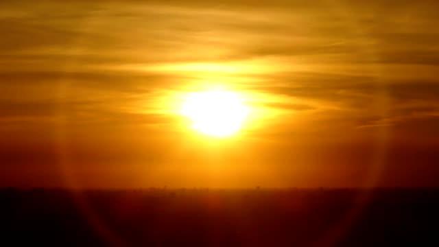 orange sunset - запад стоковые видео и кадры b-roll