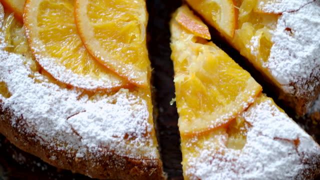 vidéos et rushes de tarte à l'orange - pâtisseries et feuilletés
