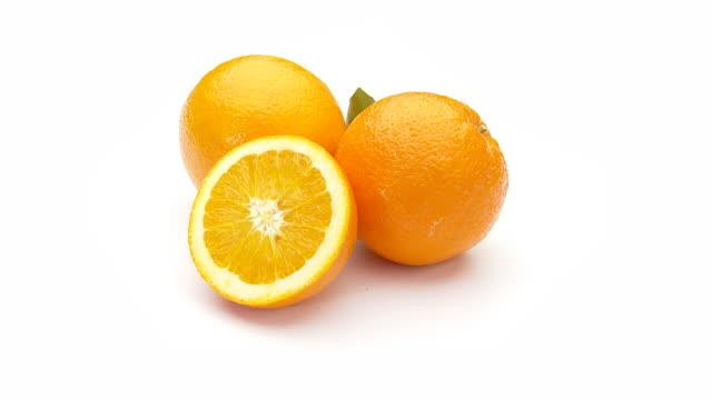 oranges - seamless loop video