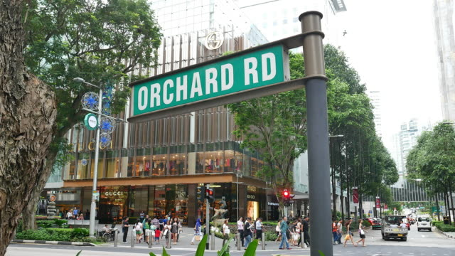 Orchard Road Singapore Video