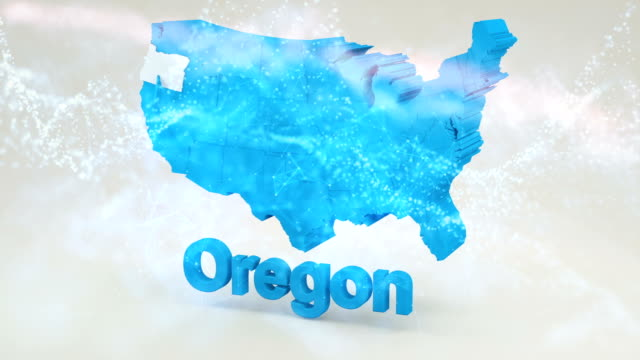 Oregon from USA States