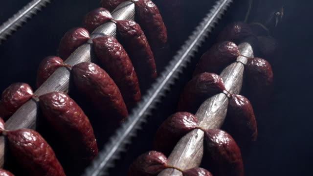 Organic sausages video