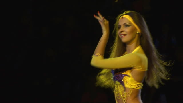 oriental dance - belly dancing stock videos and b-roll footage