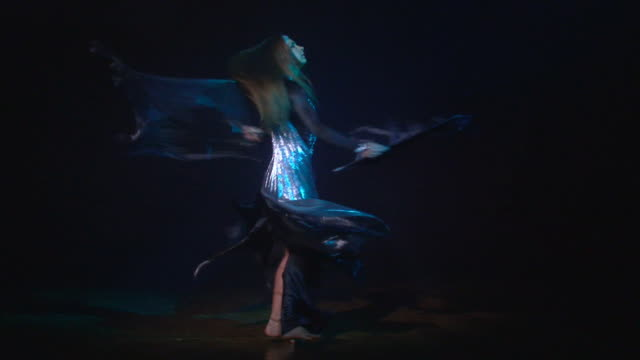 oriental dance with wings video