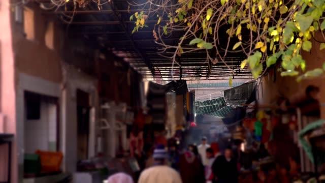 oriental market - souk video stock e b–roll