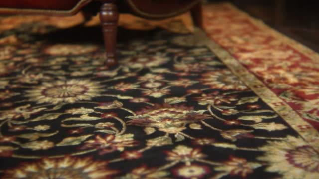 tappeto orientale - tappeto video stock e b–roll
