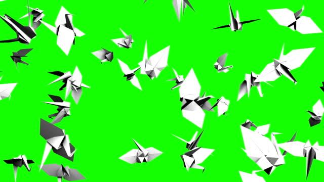 Royalty Free Paper Crane Hd Video 4k Stock Footage B Roll Istock