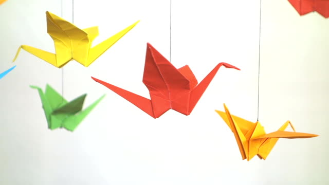 Royalty Free Origami Hd Video 4k Stock Footage B Roll Istock