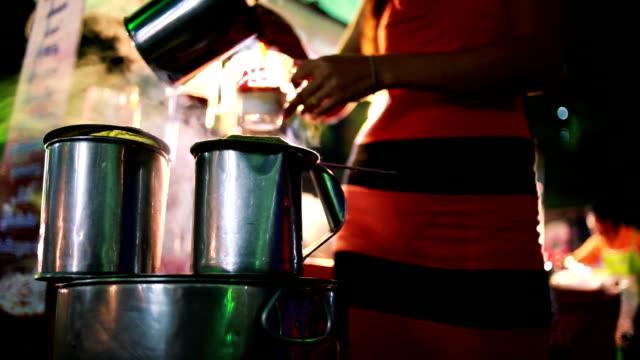 original coffee making - pazarcı stok videoları ve detay görüntü çekimi