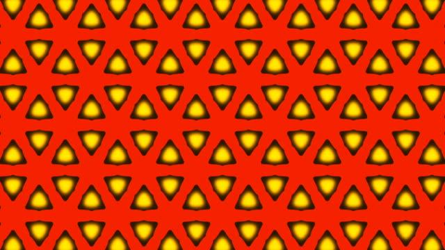 ornamental geometric caleidoscope star moving pattern New quality universal motion dynamic animated colorful joyful dance music video footage loop video