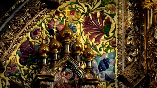 ornate gold the iconostasis
