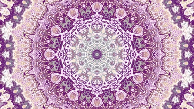 vídeos de stock e filmes b-roll de ornate mandala loop background - mandala