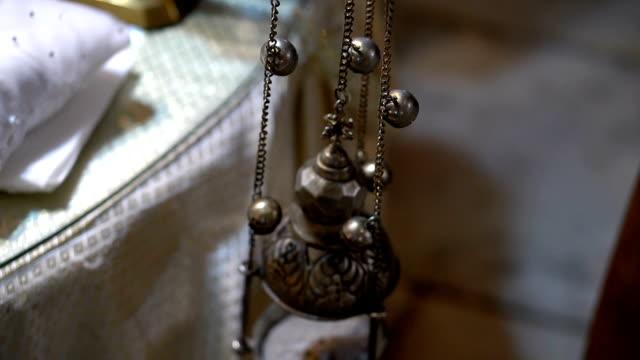 Orthodox censer - close-up