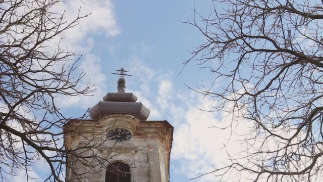 Orthodox Church bell tower