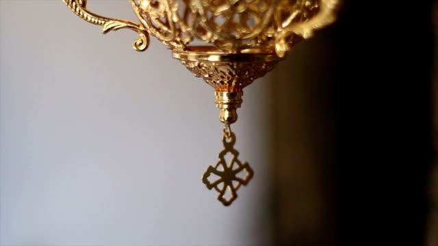 Orthodox church utensils video