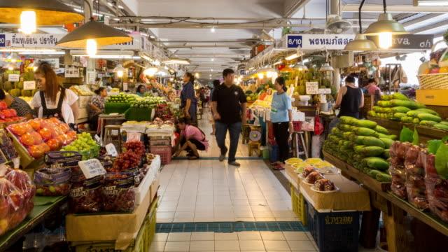 Ortorkor Market Bangkok Thailand Hyperlapse video