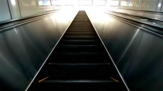 hd : osaka escalator going up. - escalator video stock e b–roll