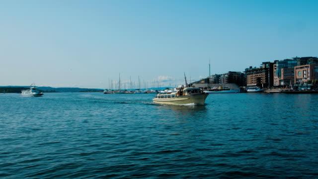 oslo hamn - turistbåt bildbanksvideor och videomaterial från bakom kulisserna
