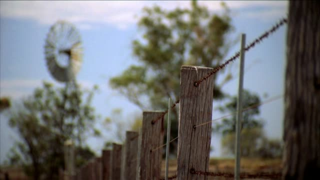Outback Farm Fence video